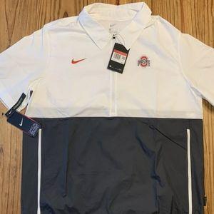 Nike Ohio State Football Coaches Windbreaker